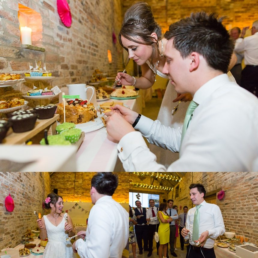 Barmbyfield Barn Wedding Photographer bakeoff