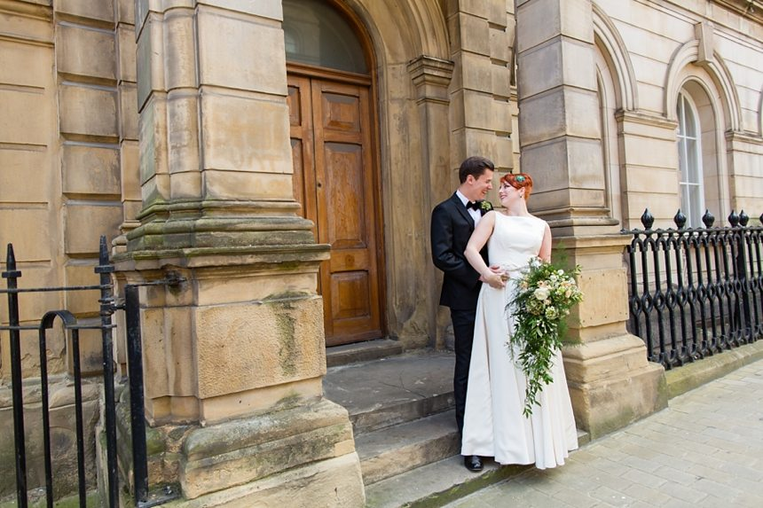Leeds Club Wedding Photography City Portraits