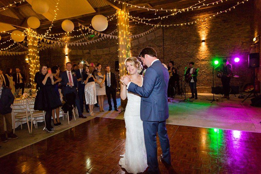 First Dance Barmbyfield Barn Wedding Photography