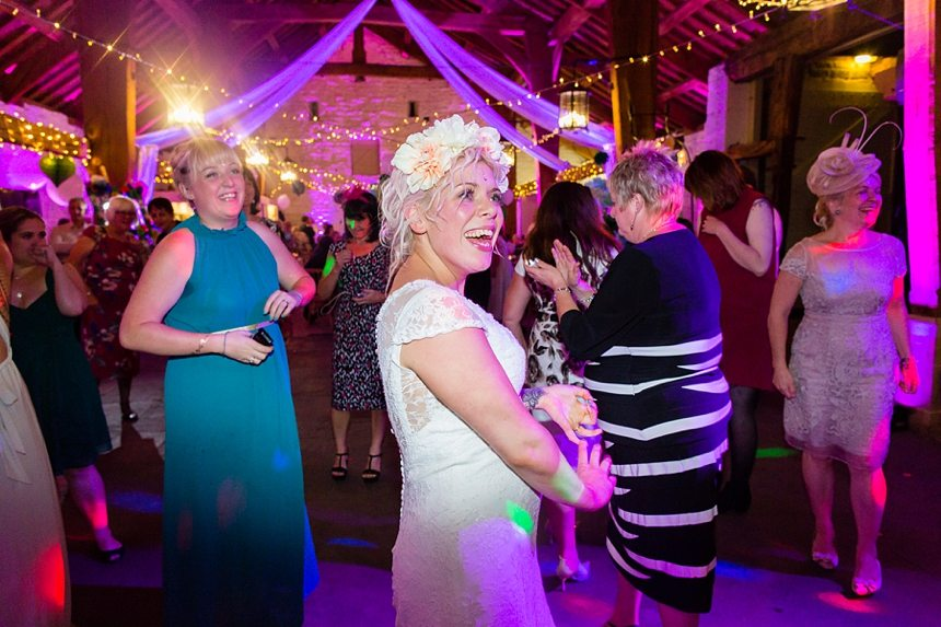 Wedding Photography York quirky bride party East Riddlesden Hall