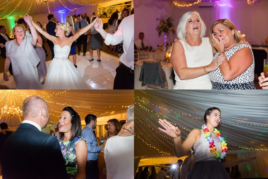 Dance & Party Photographs at Crow Hill Wedding
