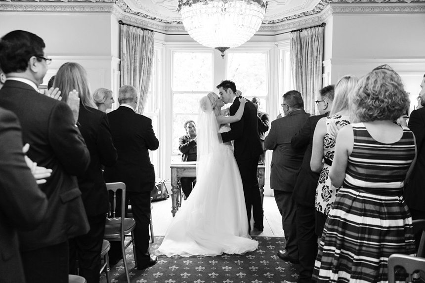 Ceremony photographs at Crow Hill Wedding