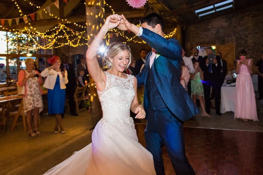 Barmbyfield Barn Wedding first dance