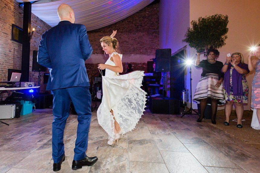 Hornington Manor Farm Wedding Photography First Dance Salsa