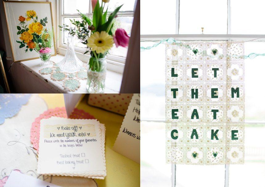 Weddings at Derwentwater Youth Hostel decorations