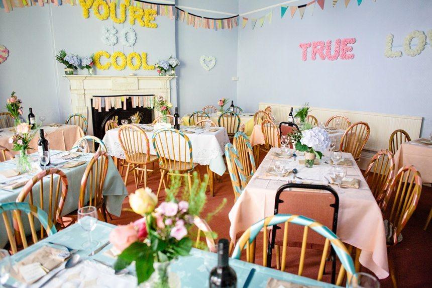 Weddings at Derwentwater Youth Hostel room decoration