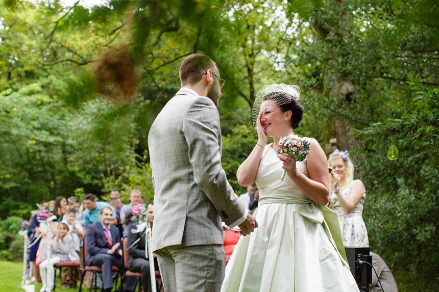 Weddings at Derwentwater Youth Hostel outdoor ceremony