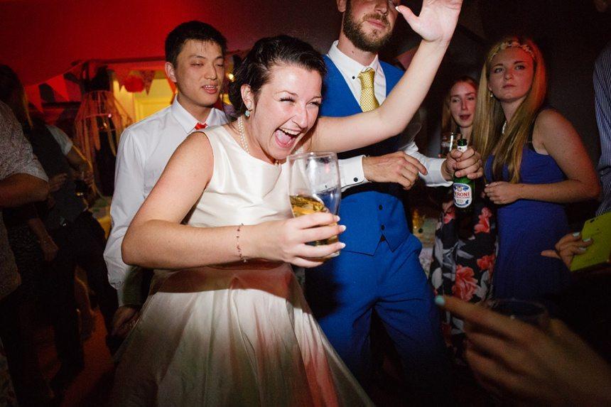 Weddings at Derwentwater Youth Hostel dance photo