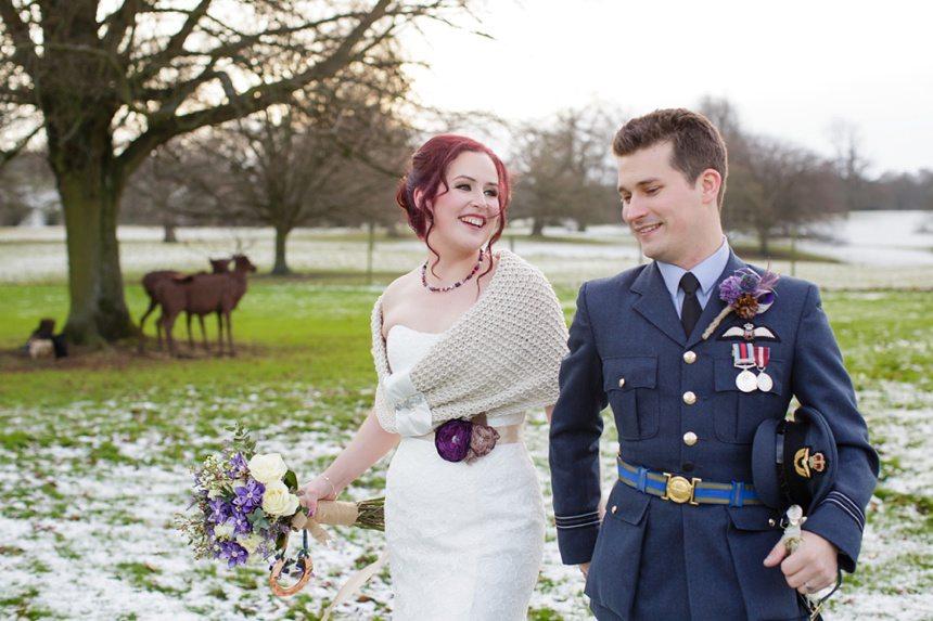 Winter Wedding Tips and Advice Military Wedding