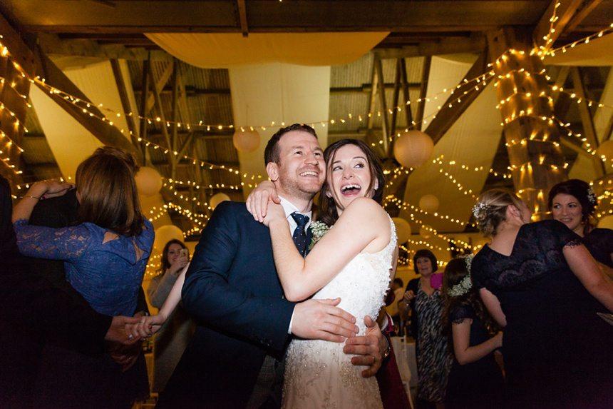 Winter Wedding Tips and Advice Smile dance fairy lights
