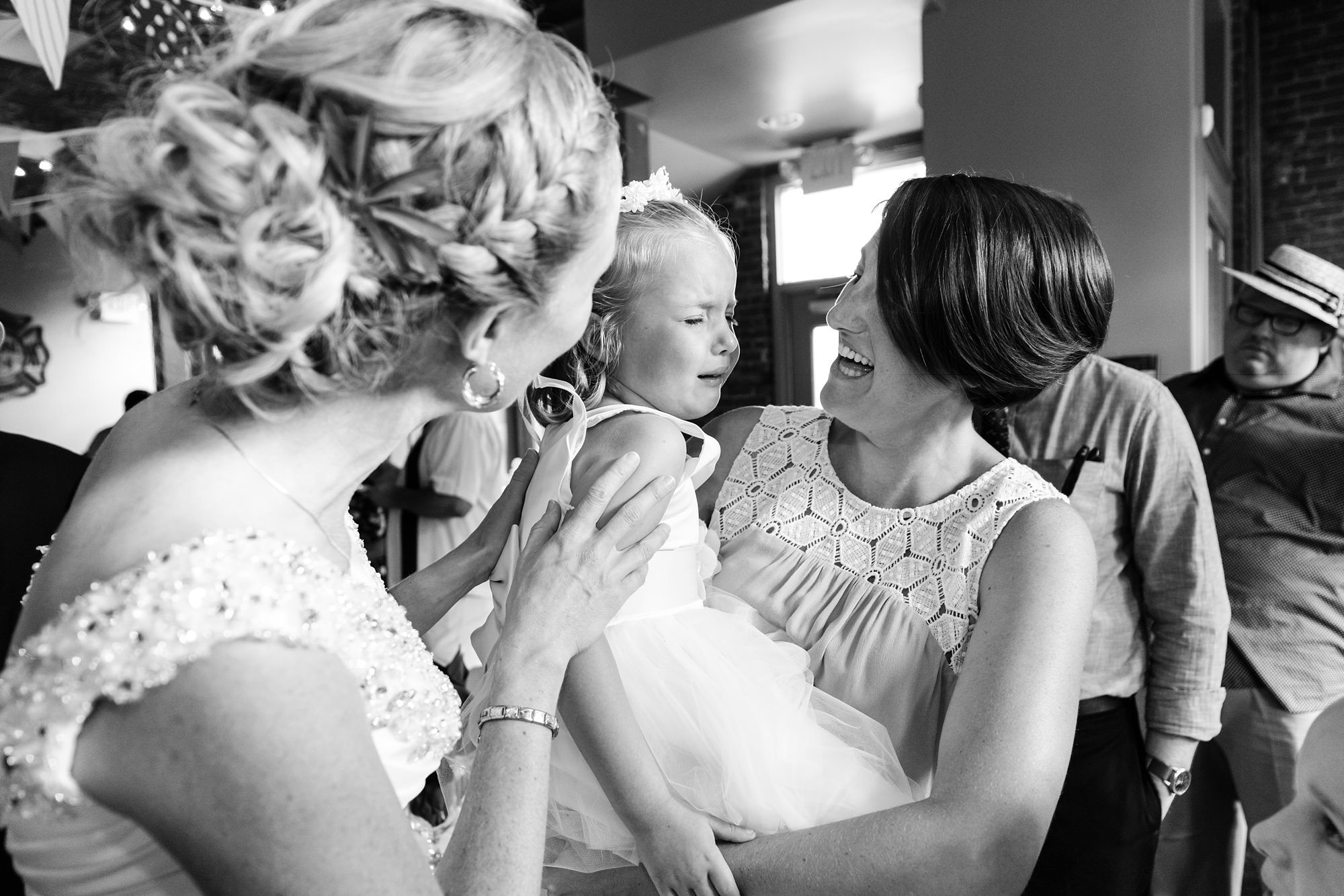 Flower girl crying Tips for Children at Weddings