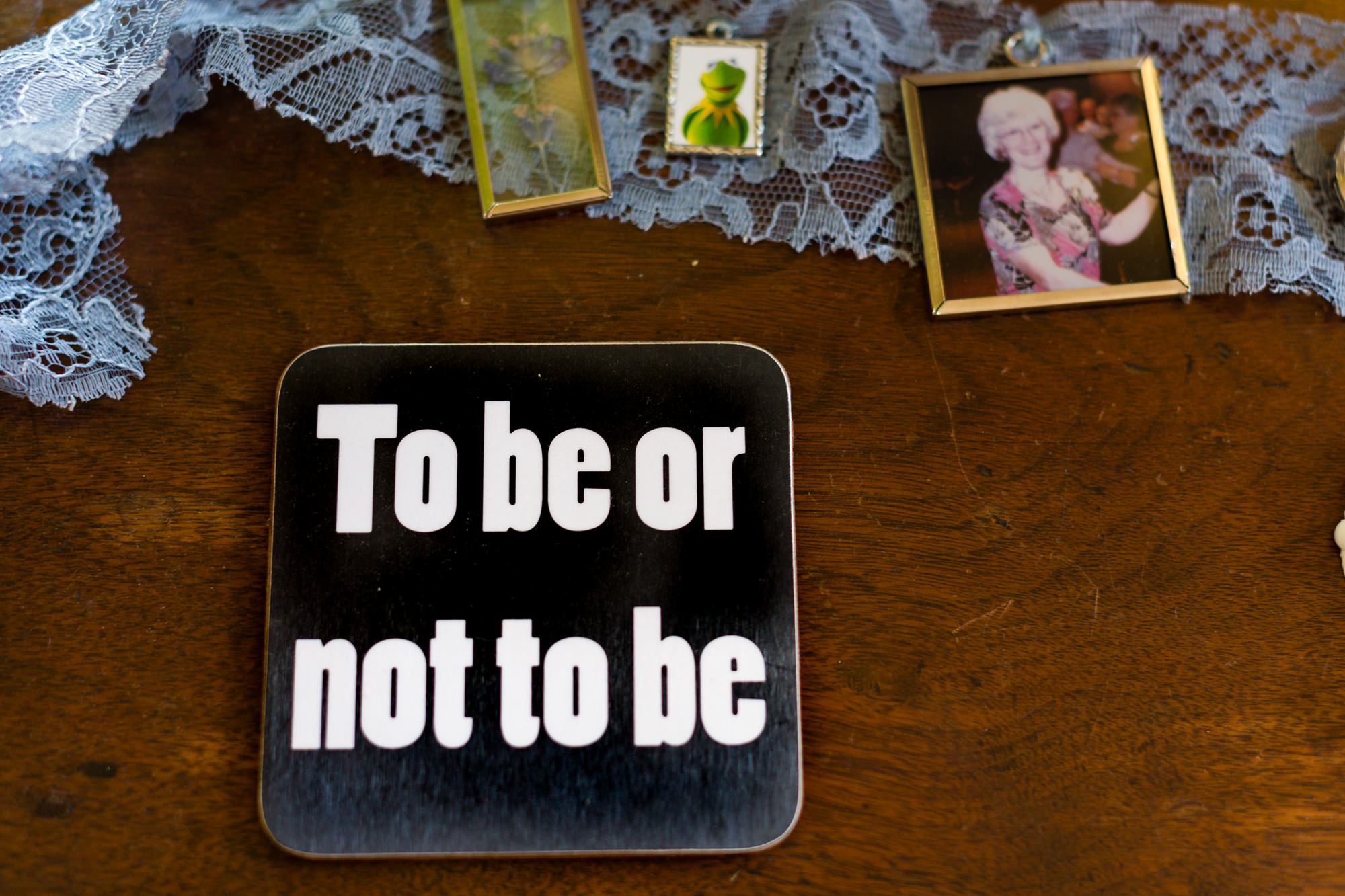 To Be or not to be quote coaster