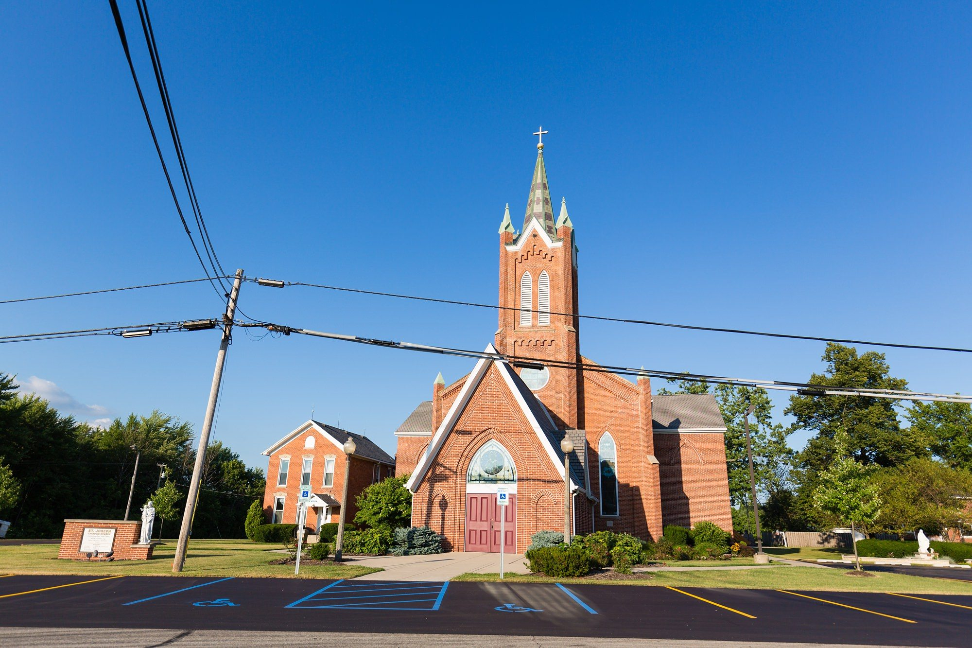 American style church