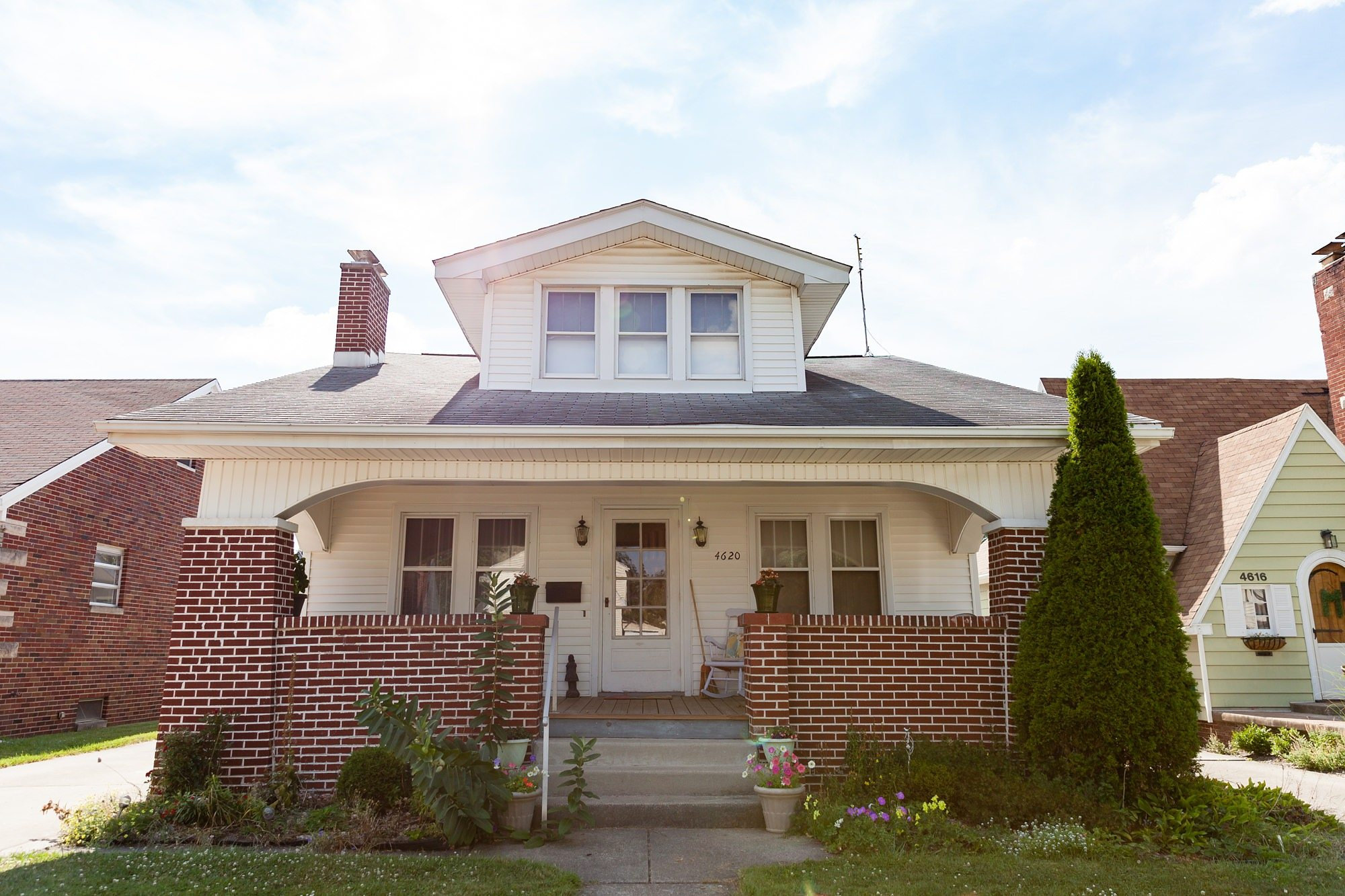 Craftsman style house in Ft. Wayne Indiana