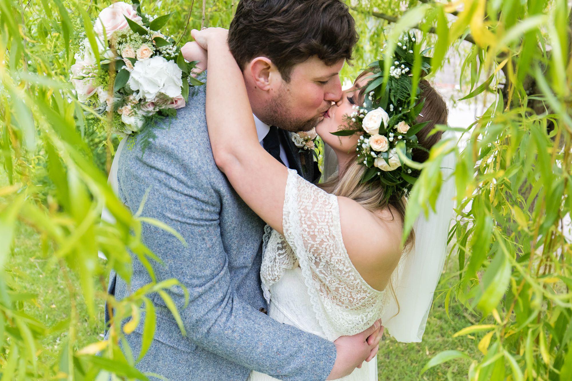 Villa farm wedding photography