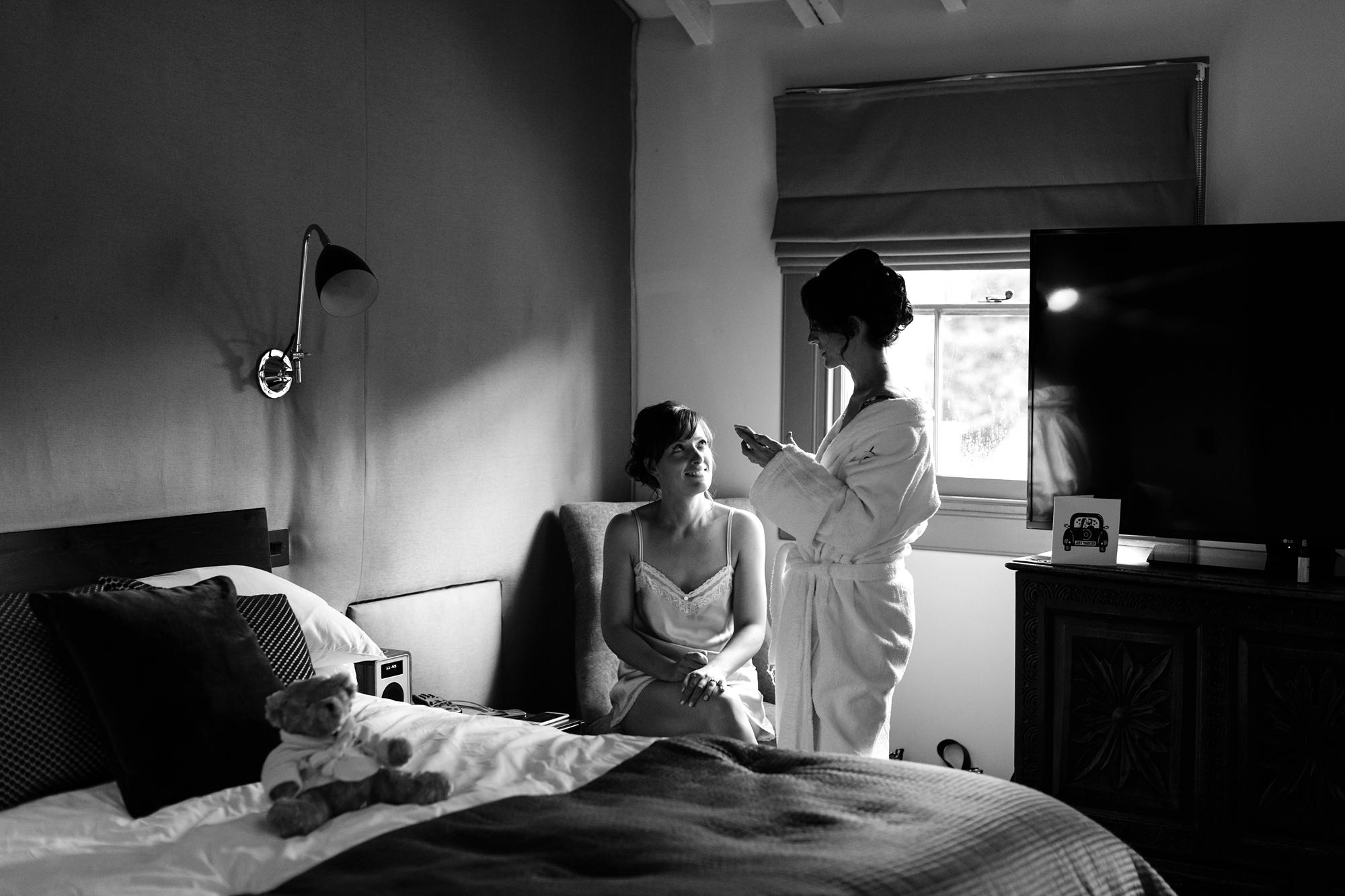 York & Albany Wedding Photography bride preparation
