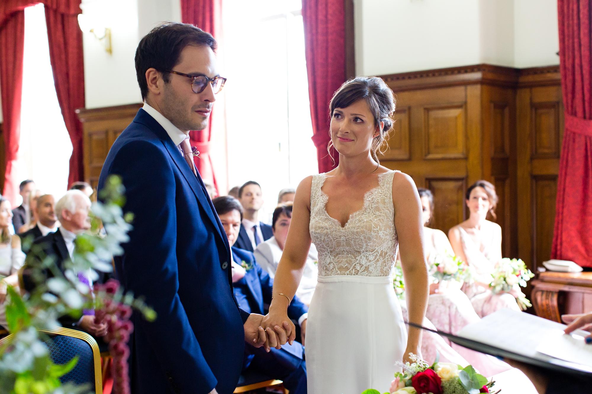 York & Albany Wedding Photography ceremony