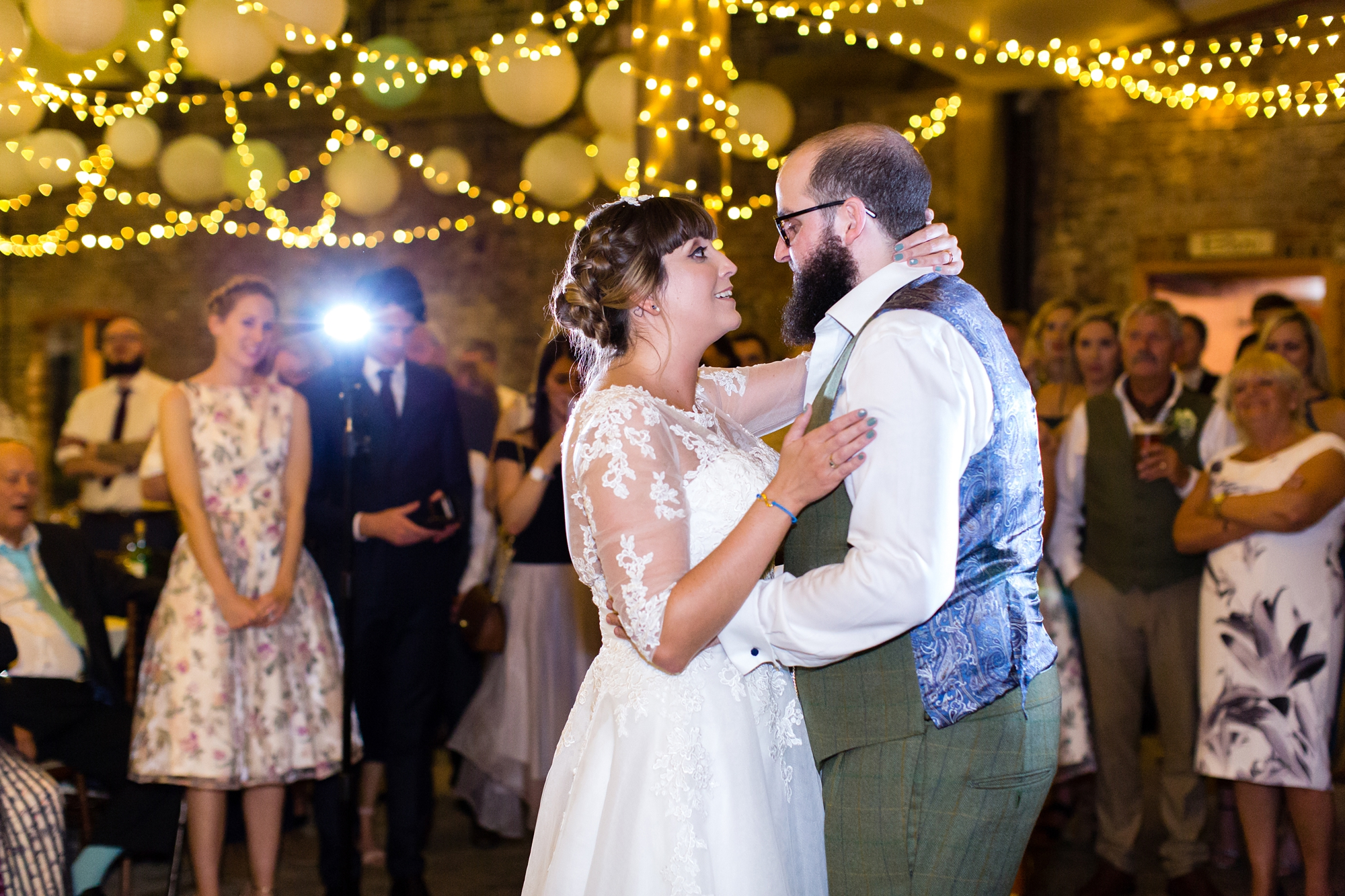 York Wedding Photography at Barmbyfield Barns first Dance