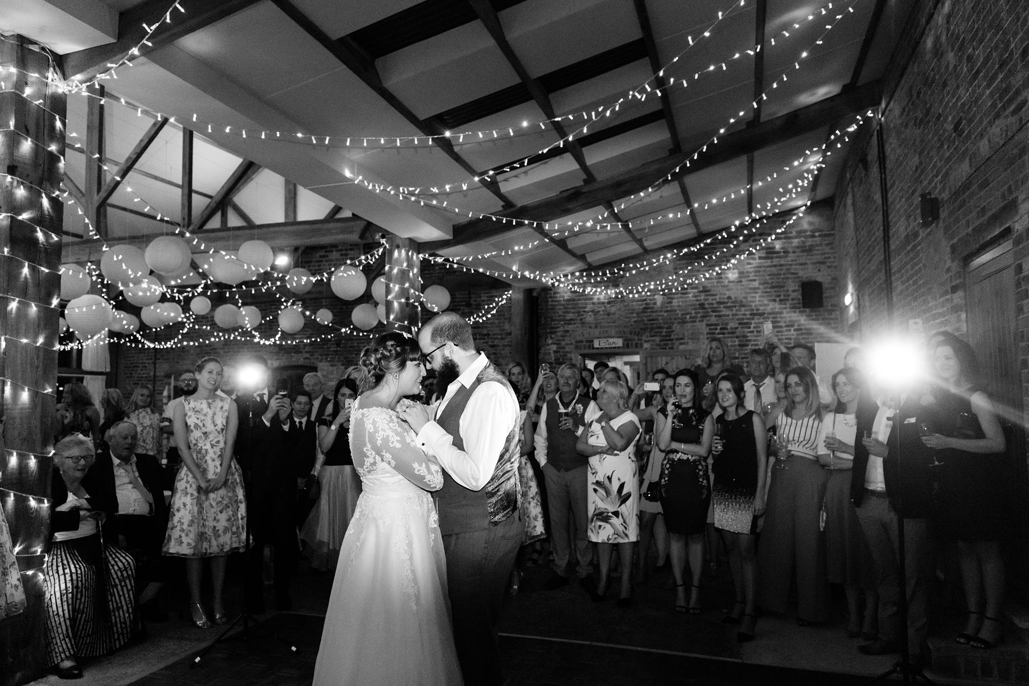 York Wedding Photography at Barmbyfield Barns Frist Dance