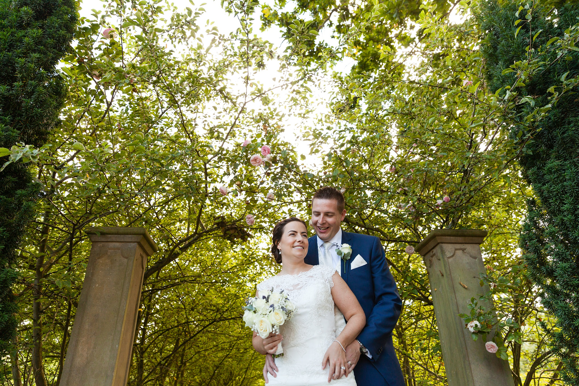 Yorkshire Wedding photography couples portrait