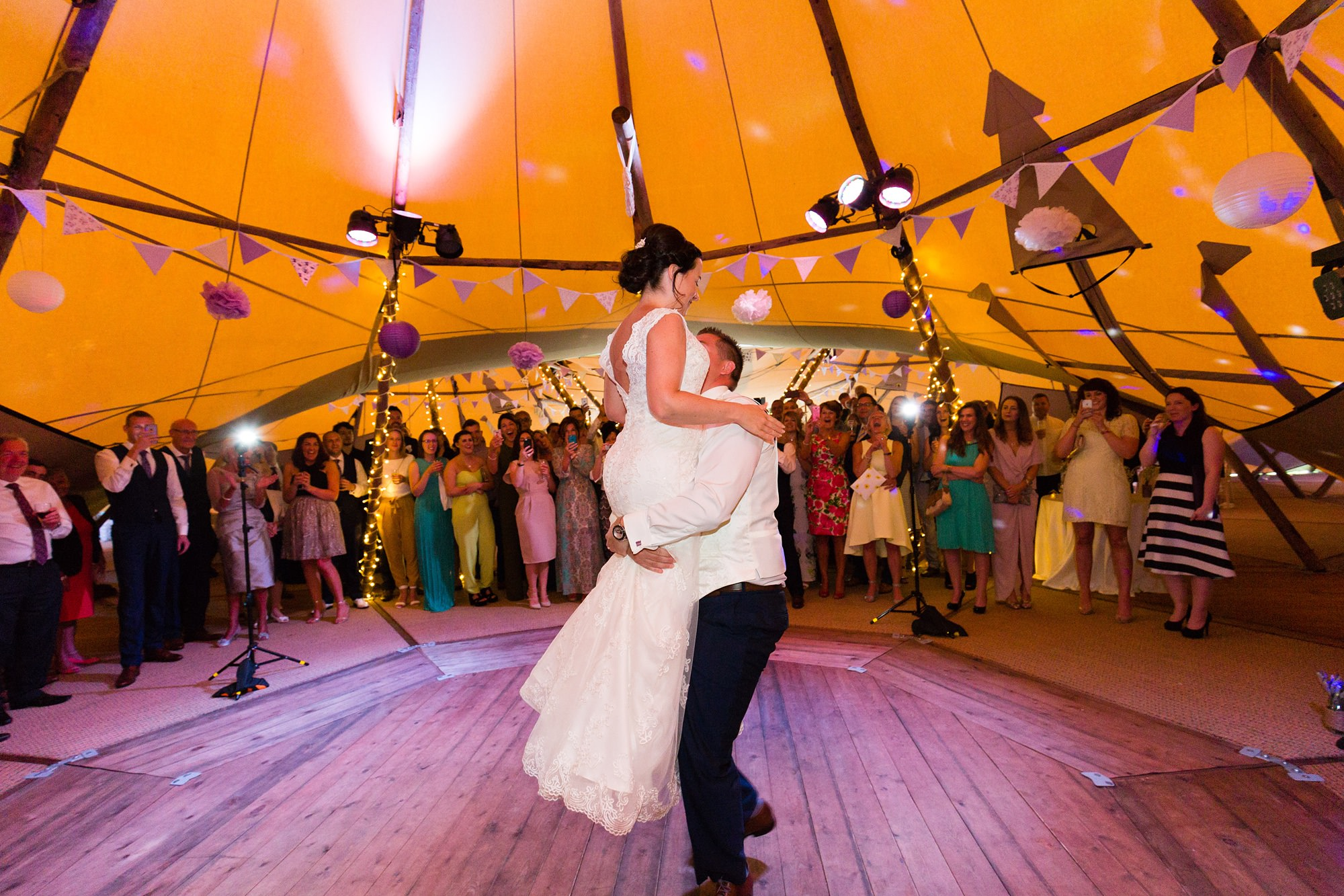 Bell Hall Wedding Photography amazing first dance