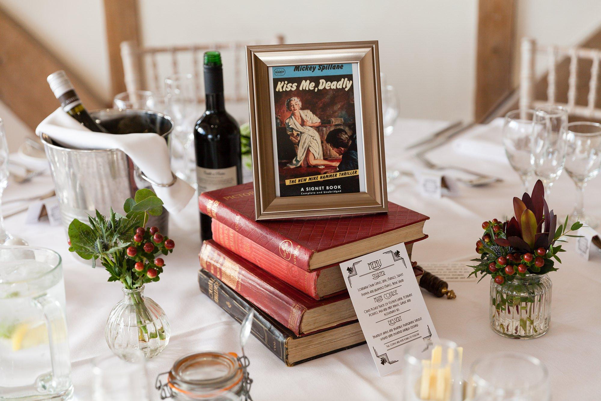 Detetctive Novel 1920's wedding theme Raymond Chandler novel cover