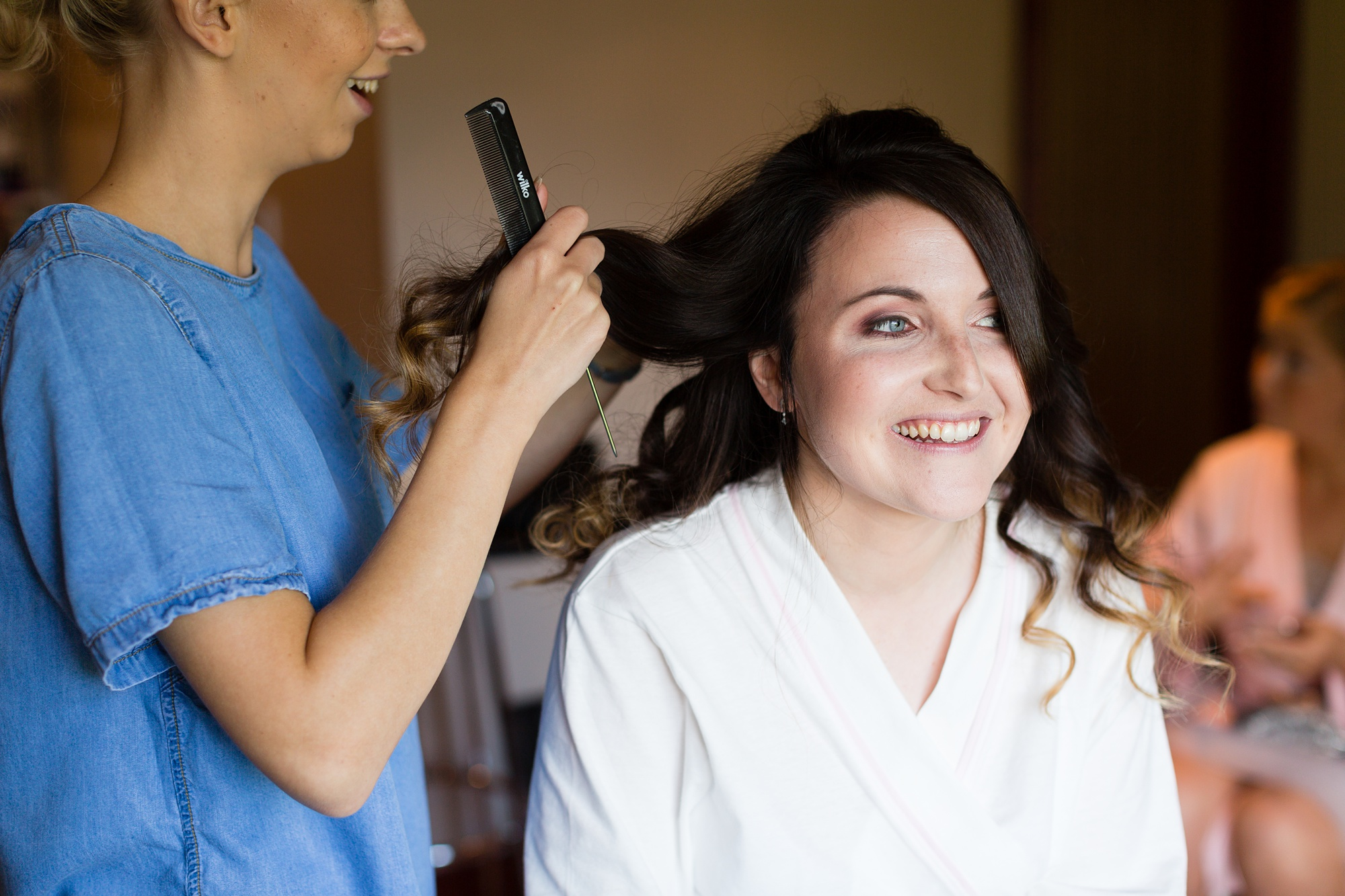 East Riddlesden Hall Wedding Photography bride preparation