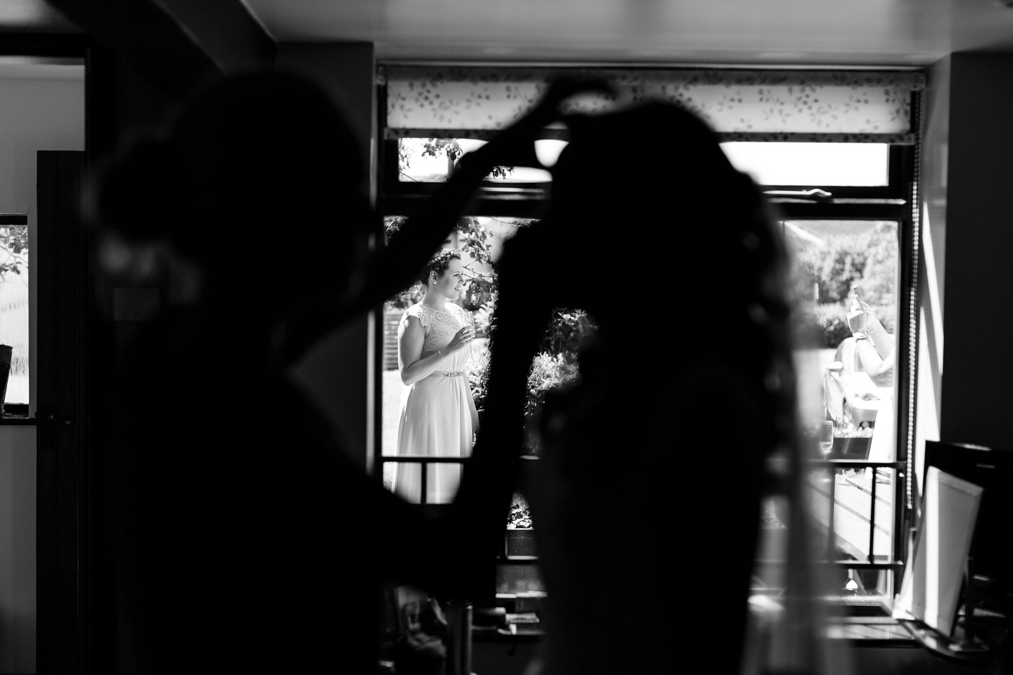 Bride makeup photograph