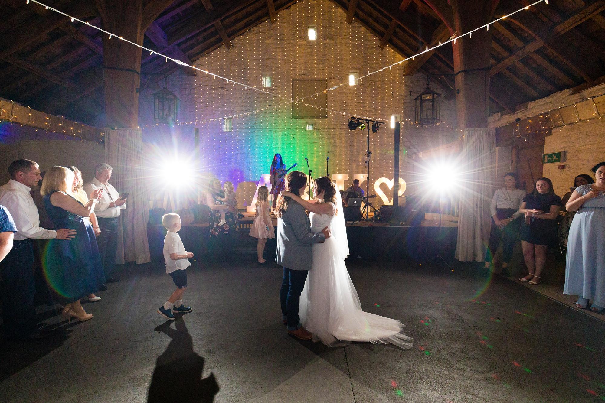 First Dance East Riddlesden Hall Wedding Photography