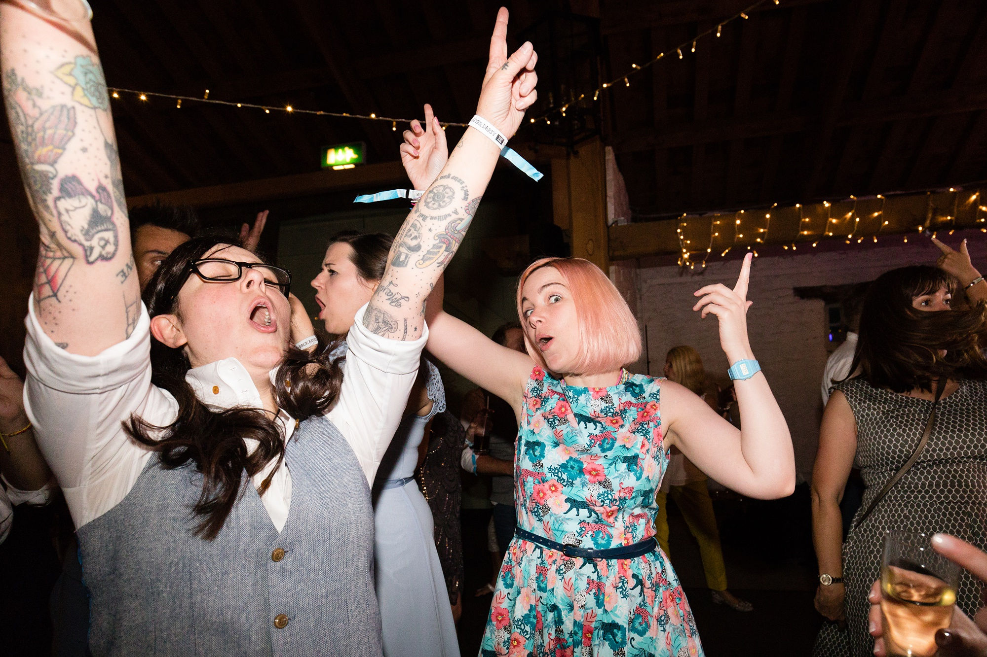 Dance photograph at wedding East Riddlesden Hall Wedding Photography