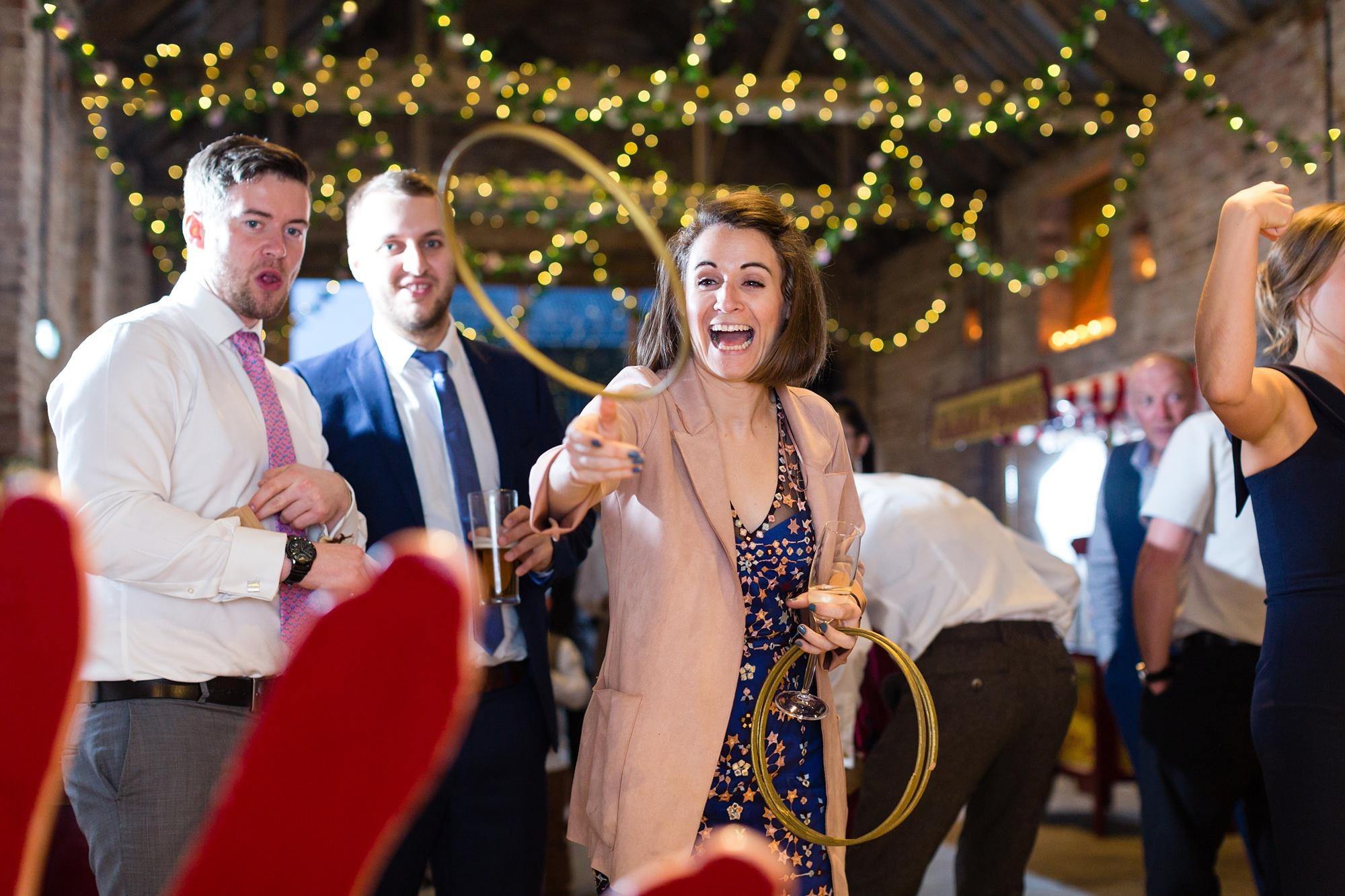 Yorkshire Wedding Photographers indoor fun fayre