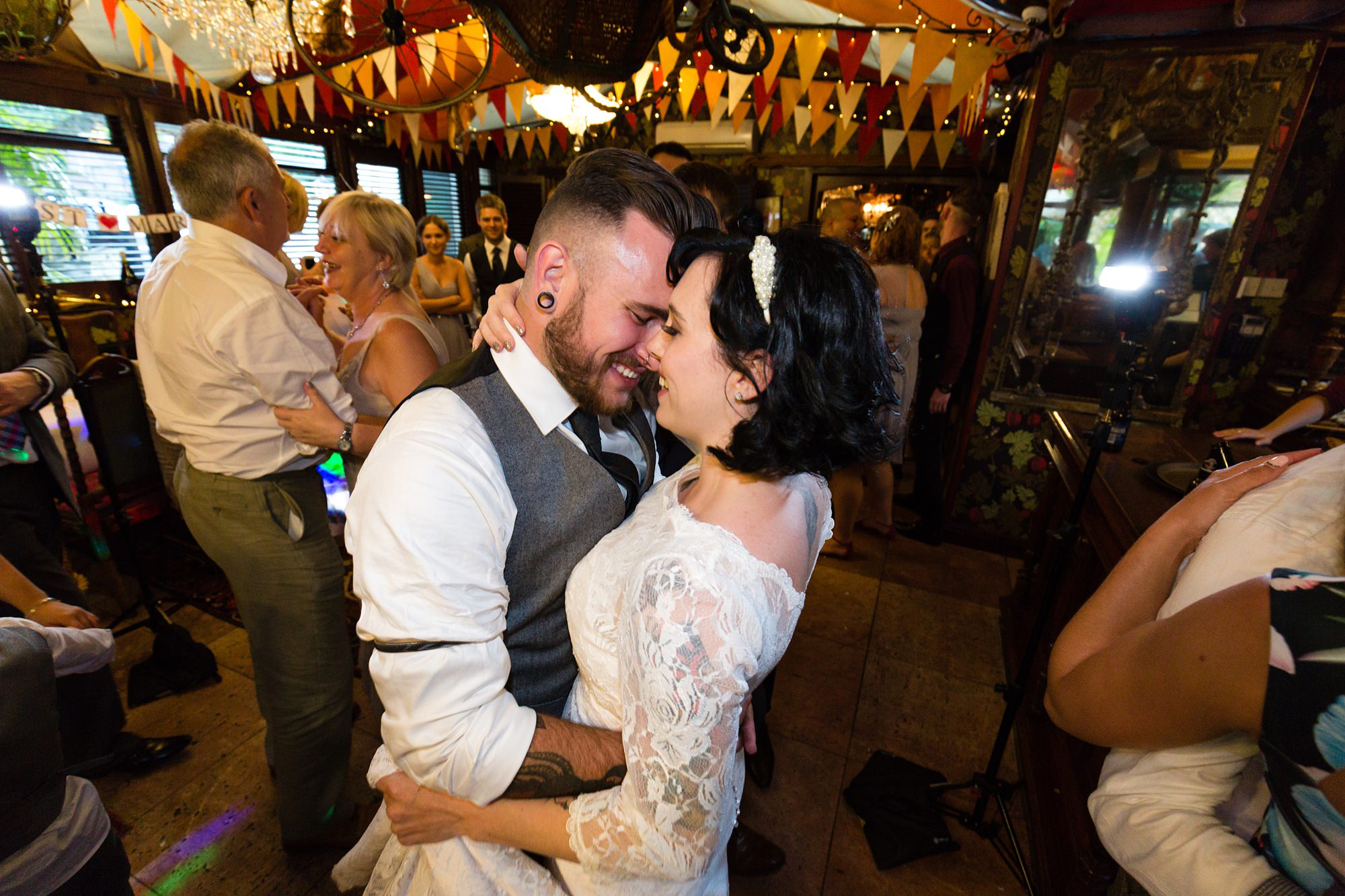 Yorkshire Wedding Photography at Crab and Lobster