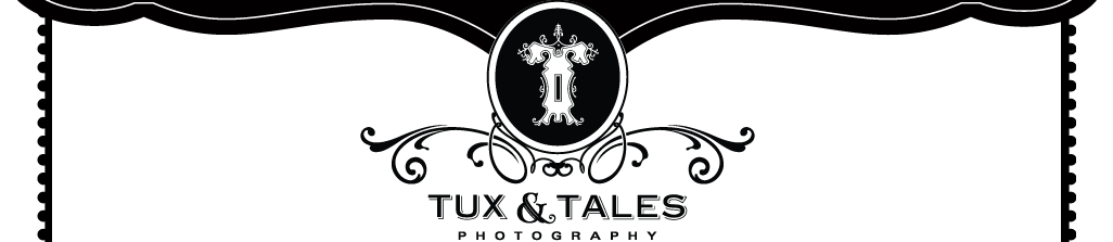 Tux and Tales Photography logo